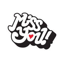 From our @Tattly sticker set  By Erik Marinovich #illustration #sticker #missyou