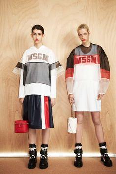 MSGM Resort 2017 Fashion Showvia style.com #thedigitalweaver.com