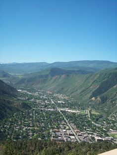 Glenwood Springs, CO. Town where famous gunslinger Doc Holliday died in 1887, six years after the shootout at Tombstone's OK Corral.