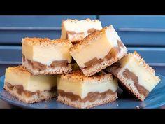 Najlepší jablkový koláč, aký ste jedli: Kombinácia strúhaného cesta, bohatej jablkovej plnky a krému z neho robí kráľa jablkových koláčov! Sweet Bakery, Yams, Cheesecake, Deserts, Dessert Recipes, Baking, Food, Apples, Youtube