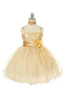 MB_224SV - Flower Girl Dress Style 224 - Gorgeous Sparkle Tulle and Sequin Dress - Holiday Dresses - Flower Girl Dress For Less