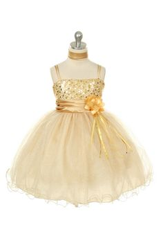 MB_224SV - Flower Girl Dress Style 224 - Gorgeous Sparkle Tulle and Sequin Dress - Holiday Dresses - Flower Girl Dress For Less