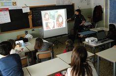 16/3/2016. Scuolartigiana. Alice Tanganelli e le tecniche della fotografia con i ragazzi della Scuola Elementare della Chiassa Superiore