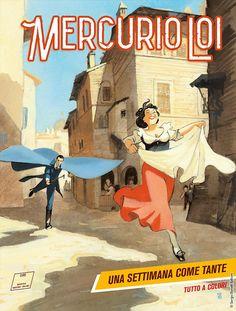 """Mercurio Loi: Una settimana come tante"" My Books, Novels, Geek Stuff, Comic Books, Manga, Anime, Movie Posters, Mercury, Geek Things"
