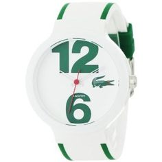 Lacoste Sportswear Collection Goa White Dial Unisex watch