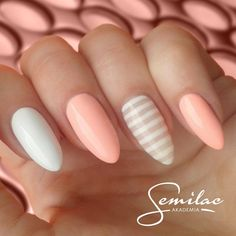 Pin von a auf nails pastel nails, nails und gel nails Fabulous Nails, Gorgeous Nails, Love Nails, How To Do Nails, Pretty Nails, My Nails, Spring Nails, Summer Nails, Nails 2017