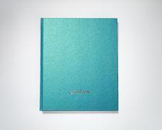 Notizbuch mit irisierendem Covereinband (COCKTAIL, Curacao)