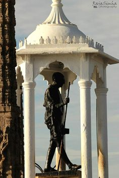 Gandhi Statue #pondy #pondicherry Image by RajaSimha Photography Use #MyPYpic to have your pics featured by us
