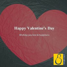 Happy #Valentine's Day - wishing you much love & happiness