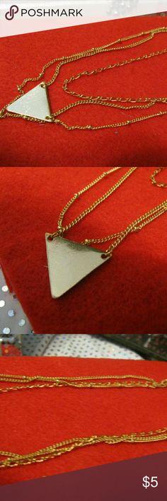 Chocker Gold 3 adjourned  chain  chocker--(7,8,9,'chain) Jewelry Necklaces