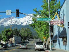 Mount Shasta Blvd in Mt. Shasta City.. by iwona_kellie, via Flickr