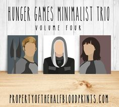 HUNGER GAMES Minimalist Trio: Volume 4