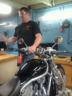OH my gosh. There were about 100 Harley Davidson Motorcycles in the CCCC motorcycle dept. I really wanted to take a ride on one!
