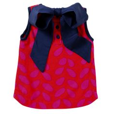 The Coco Top in Navy Sprinkles