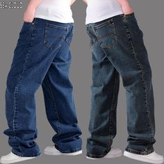 >> Click to Buy << Sea Cloud Free shipping plus size 50 Men  jeans hiphop pants men autumn thick loose factory cotton big trousers denim mens #Affiliate