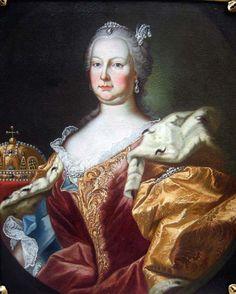 1754 Martin van Meytens (Swedish artist, 1695-1770) Maria Thersia