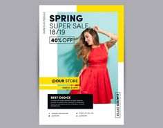 Photographic spring sale poster Free Vector Source by andreweato Ad Design, Flyer Design, Layout Design, 2020 Design, Creative Poster Design, Graphic Design Posters, Creative Flyers, Photoshop, Adobe Illustrator
