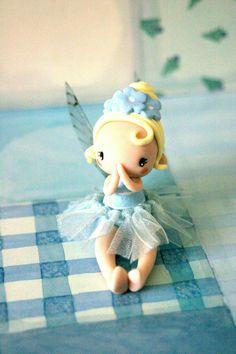 Fairy figurine wearing a tutu