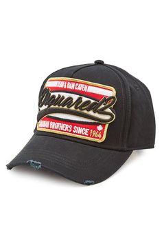 36f9f19bf6 Baseball Cap with Logo Patch   Dsquared2 Baseballsapka