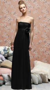 Black! Especially for 2012′s upcoming fall and winter weddings.