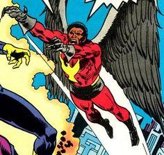 The Condor by John Buscema. Supervillain. Winged character. Winged villain. Comic books. Marvel Comics.