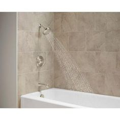 KOHLER Willamette 1-Handle Tub and Shower Faucet in Vibrant Brushed Nickel-K-R99903-4-BN - The Home Depot