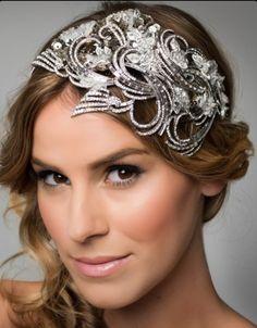 Viktoria Novak - stunning head piece!