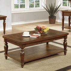 Coaster Furniture Coffee Table - Rustic Brown - 703578, COA1980 #coasterfurniturebrown