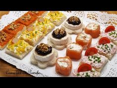 Tapas Recipes, Cooking Recipes, Canapes Faciles, My Favorite Food, Favorite Recipes, Farmers Market, Finger Foods, Catering, Sushi