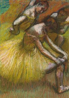 Edgar Degas - Group of Dancers (Groupe de danseuses), 1900 at the Barnes Foundation Philadelphia PA by mbell1975, via Flickr