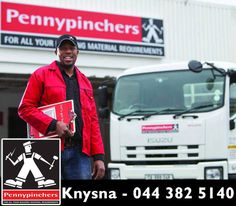 With Pennypinchers' speedy delivery service, you can arrange for your order to be transported straight to your site or home. Whether you need hardware or building materials, we're dedicated to helping you complete your projects on time and within budget. Knysna, Building Materials, Delivery, Budget, Hardware, Projects, Construction, Prompt, Clock