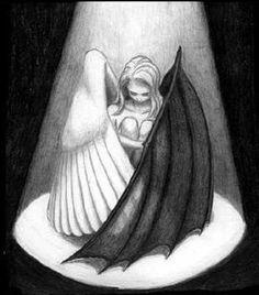 Demon Drawings, Sad Drawings, Dark Art Drawings, Art Drawings Sketches Simple, Pencil Art Drawings, Ideas For Drawing, Broken Drawings, Pencil Drawing Inspiration, Dark Art Illustrations