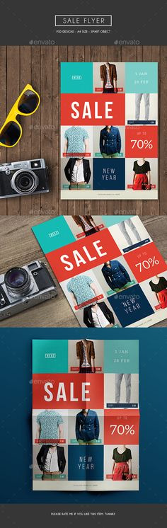 Sale Flyer Template PSD. Download here: http://graphicriver.net/item/sale-flyer/15914412?ref=ksioks