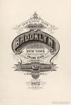 Brooklyn Fire Insurance Map