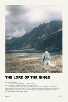 The Lord of the Rings alternative movie poster