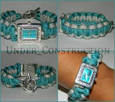 Under_Construction Survival Bracelets this watch! Survival Bracelets, Paracord Bracelets, Survival Straps, Military Life, Watch Faces, Under Construction, Knots, Beading, Watches