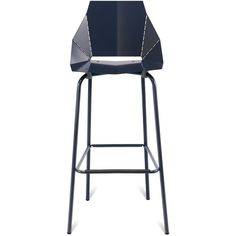 Unique Bar Stools ($249) ❤ liked on Polyvore featuring home, furniture, stools, barstools, colored furniture, modern stools, modern bar stools, colored stools and modern furniture