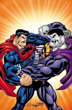 "#Superman #Fan #Art. (Superman Vol.2 #181 ""THE MIRROR CRACK'D"" Cover) By: Ed McGuinness. ÅWESOMENESS!!!"