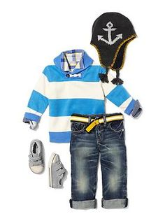 Baby Clothing: Toddler Boy Clothing: We  Outfits | Gap....love this!