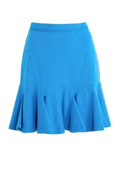 Comfy and flirty, we're crushing on this Carven skirt