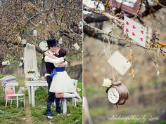 Alice in Wonderland Wedding | Flickr - Photo Sharing!