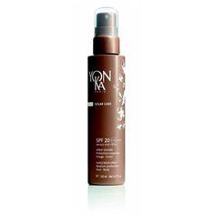 Täglicher Sonnenschutz. Diese Yon-Ka Sonnenschutzmilch mit zarter und leichter Textur empfiehlt sich bei leicht bräunender Haut und bei weniger ausgedehnten Sonnenbädern oder mäßiger Sonneneinstrahlung. Hält die Feuchtigkeitsversorgung der Epidermis aufrecht und schützt vor vorzeitiger Hautalterung. Für Gesicht und Körper, mittlerer Schutz, UVA-UVB