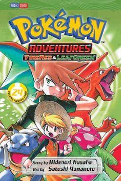 Pokemon Adventures Graphic Novel 24 (Firered & Leafgreen)