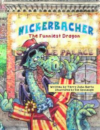 Funny Dragon Slays Early Readers with Comedic Picture Book Press Release #1