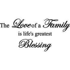 quotes about family | MY FAMILY ~ MY LIFE ~ MY LOVES: ♥ Family Photos ♥