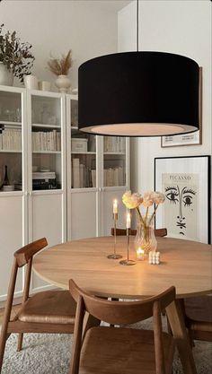 Dining Room Inspiration, Home Decor Inspiration, Home Living Room, Apartment Living, Dining Room Design, Home Interior Design, Room Decor, House Design, Decoration