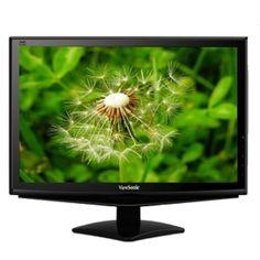 19 ViewSonic VA1948M-LED DVI/VGA 1440x900 Widescreen Ultra-Slim LED LCD Monitor (Black)