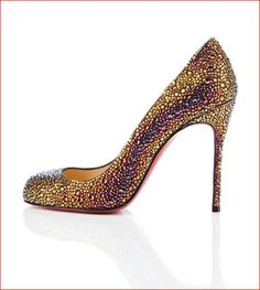 Christian Louboutin's Fifi Strauss pumps shown on Shoe-a-Day