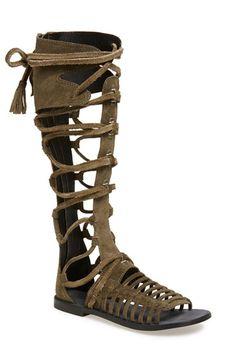 5c0f24a8bf5 Free People  Sun Seeker  Tall Gladiator Sandal (Women)