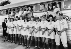 Still of Geena Davis, Tom Hanks, Madonna, Lori Petty, Rosie O'Donnell, Megan Cavanagh, Anne Ramsay, Tracy Reiner and Bitty Schram in A League of Their Own